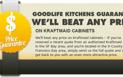 Lowest Price Guarantee on Kraftmaid Kitchens