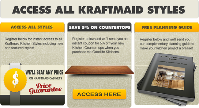 kraftmaid product information selection specifications goodlife