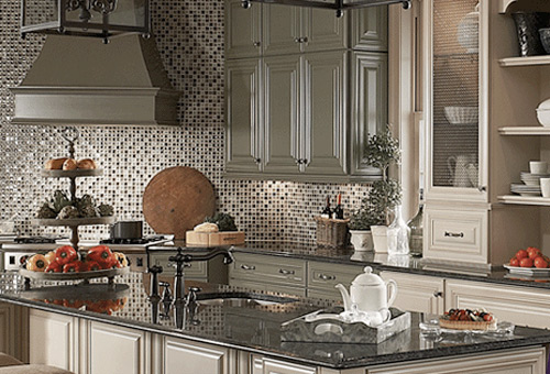 ... Classically Traditional Kraftmaid Kitchen Style