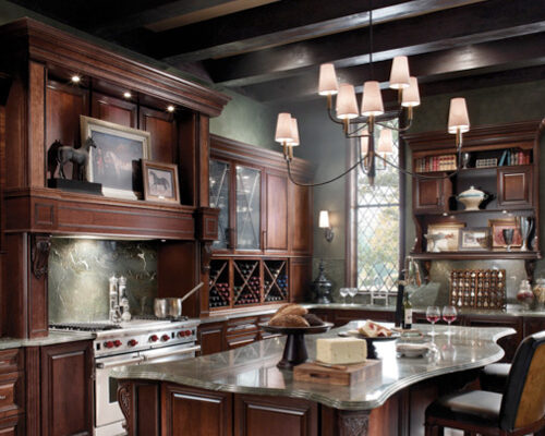 Classically Traditional Kraftmaid Kitchen Style