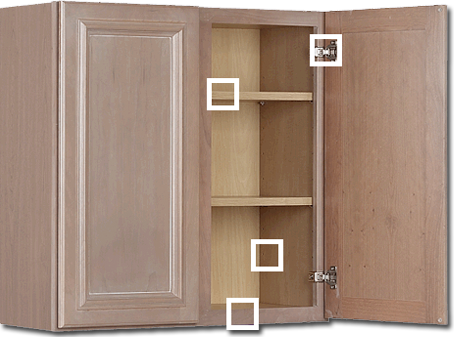 Kraftmaid cabinet sizes specs for Kraftmaid kitchen cabinets