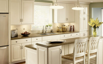 Light and Timeless Kraftmaid Kitchen Style